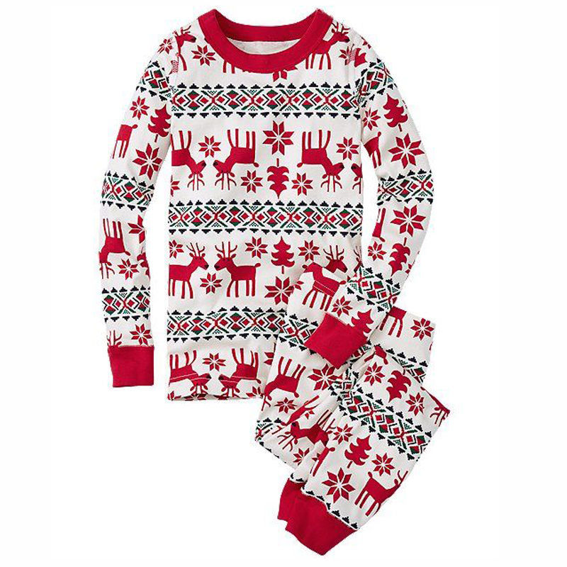 d0398a9e1 2019 HEEGRAND New Family Christmas Pajama Family Matching Clothes ...
