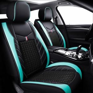 Image 2 - (Trước + Reat) da PU bọc ghế xe ô tô xe Volkswagen tất cả các dòng xe VW Polo Passat B6 B7 B8 GOLF 5 6 7 TOURAN TIGUAN Jetta xe ô tô
