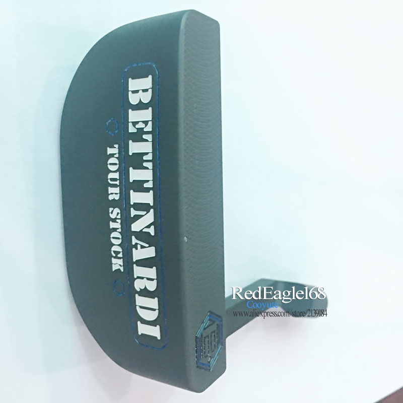 Cooyute New Golf Putter BETTINARDI TouR Stock  Semicircle Golf Heads Right Handed Clubs Heads No Golf Shaft Free Shipping