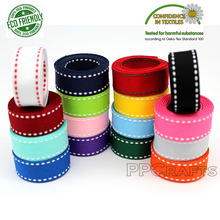 Stitch Grosgrain Ribbon 3/8 9mm 5/816mm 7/822MM 1 25mm  White Red Black