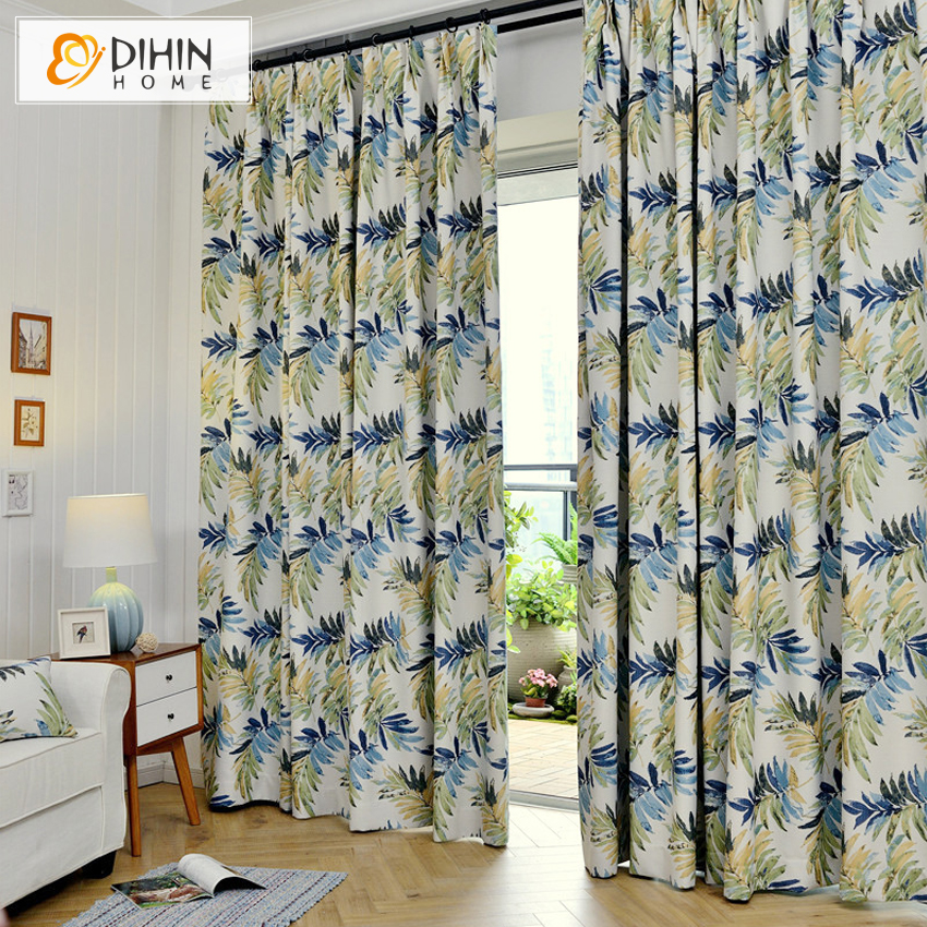 New Arrival Blackout Curtains Hawaiian Tropic Curtain For Living Room Window D Treatments Ready Made Panels In From Home Garden On