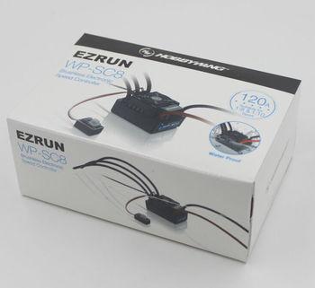 цена на Hobbywing EZRUN WP SC8 Waterproof 120A Brushless ESC RC Car EZRUN-WP-SC8 RC Speed Controller