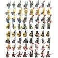 Средневековый замок рыцари с оружием щиты строительные блоки кирпич игрушки тяжелая броня рыцарь армии римского солдата