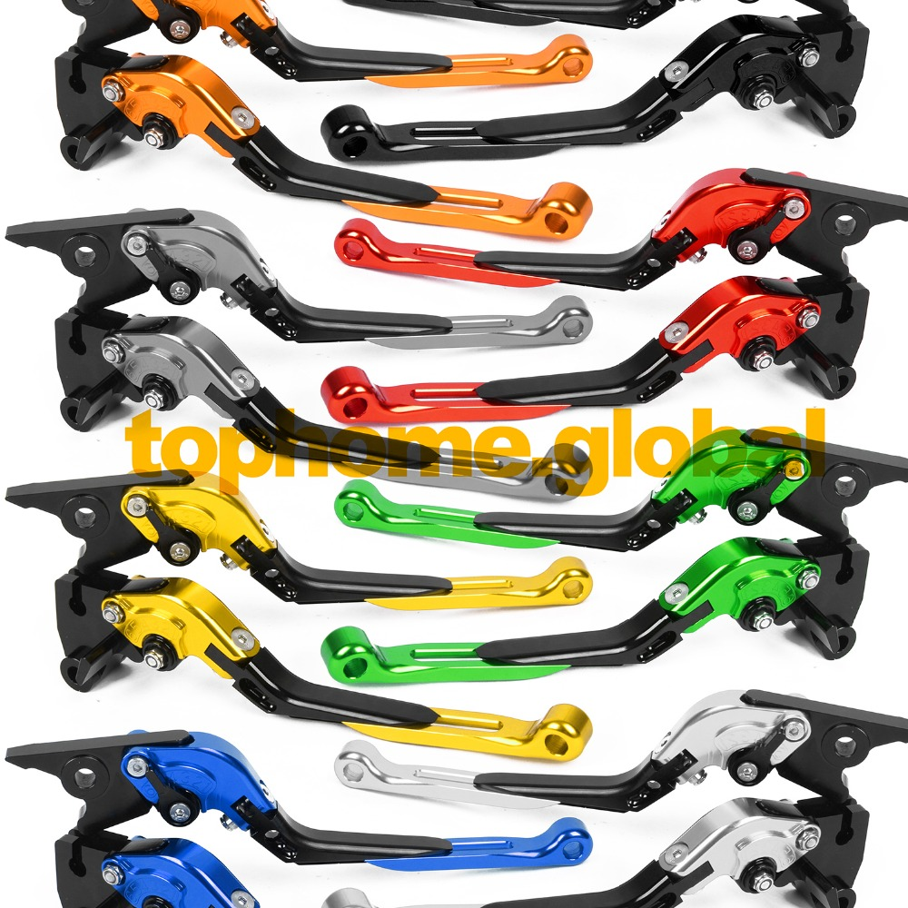 For Honda RC51/RVT1000R/ VTR1000 SP1/SP2  2000 - 2006 Foldable Extendable Brake Clutch Levers CNC Folding Extending 01 02 03 04