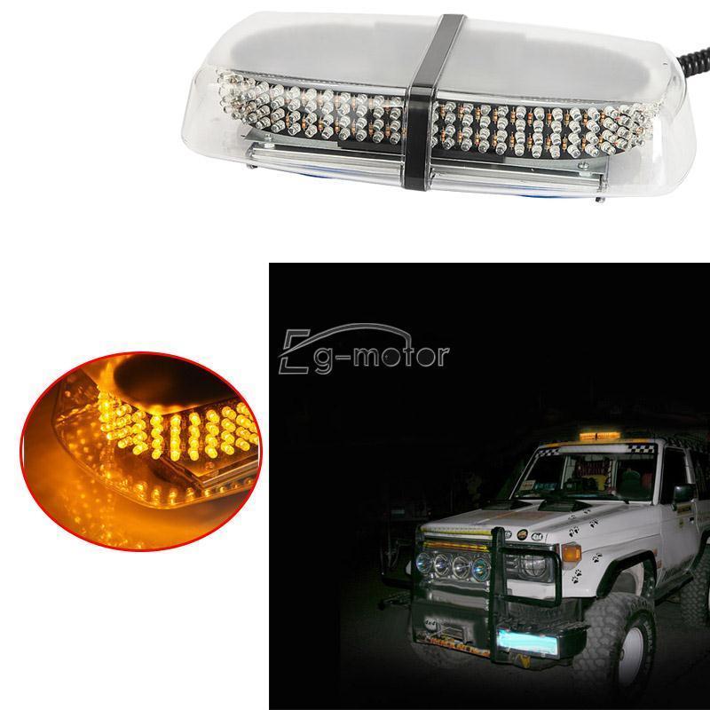 240 LEDs Advertencia Unidad de luz estroboscópica Ámbar Amarillo - Luces del coche - foto 5
