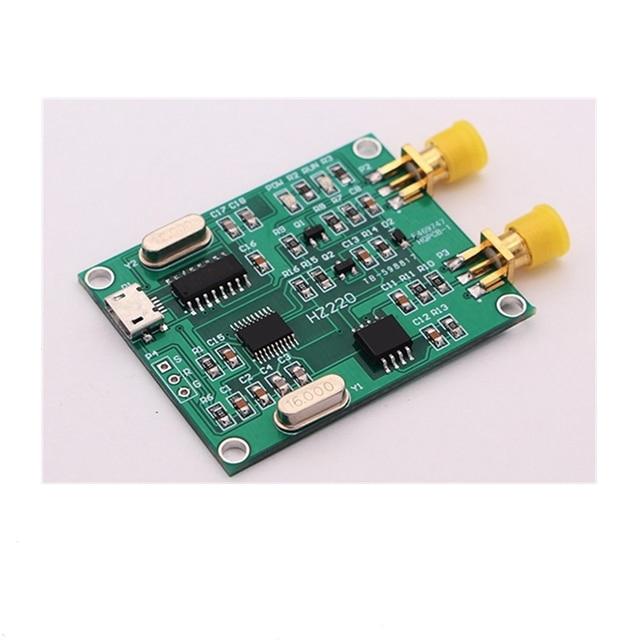5 шт. USB цифровой частотомер высокая частота 2 МГц-2 ГГц/низкая частота 0-8 МГц с функцией счетчика модуль