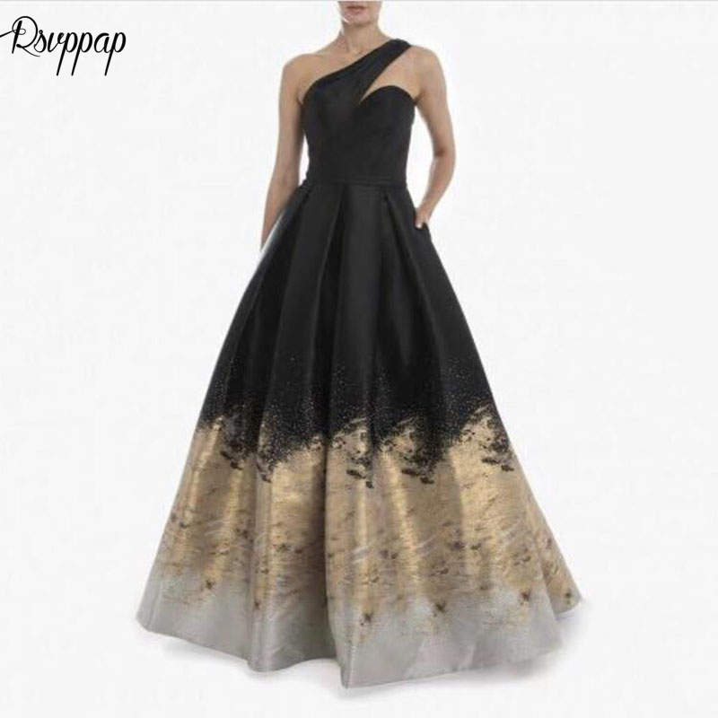 Formal Evening Gowns By Designers: Long Lebanon Design Arabic Style Evening Dresses 2019 One