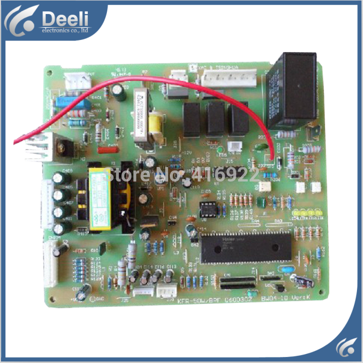 95% new good working for inverter air conditioner computer board KFR-50LW/BPF 0600302 BW04-10 motherboard on sale
