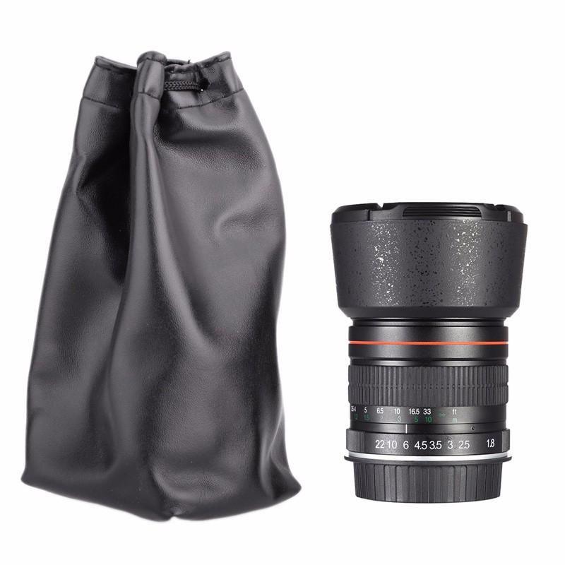 85mm F/1.8 Medium Telephoto Portrait Prime Manual Focus Camera Lens for Canon 10D 760D 700D 600D 70D 60D 7D 6D 5D II III DSLR 10