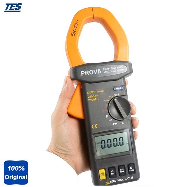 PROVA-2003 Average Sensing Digital Clamp Meter (DC2500A;AC 2100A)