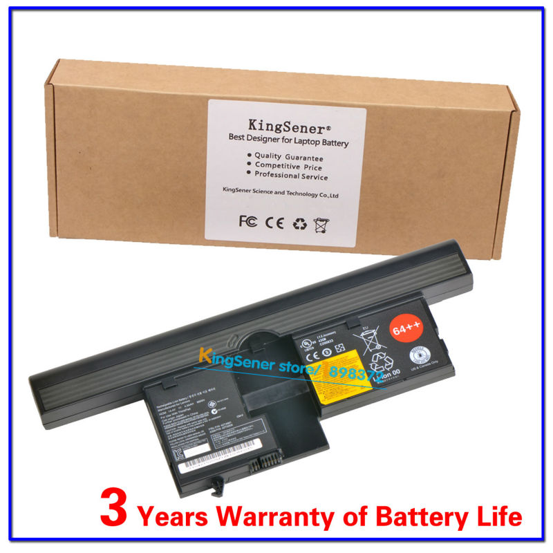 KingSener 14.4V 66WH New Laptop Battery X60T X61T For Lenovo ThinkPad IBM X60 X61 Tablet PC series 42T4661 42T5209 free shipping brand new us version for lenovo thinkpad x60 x60s x61 x61s laptop keyboard keypad