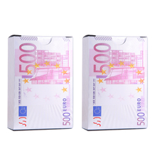 EURO-02 Playing Cards  Waterproof Card PVC Poker Collection Durable Creative Gift Game Card Plastic Poker Cards 2 Packs iso free sample pvc fidelity card pvc gift vip card bussines card within 39 barcode barcode plastic cards