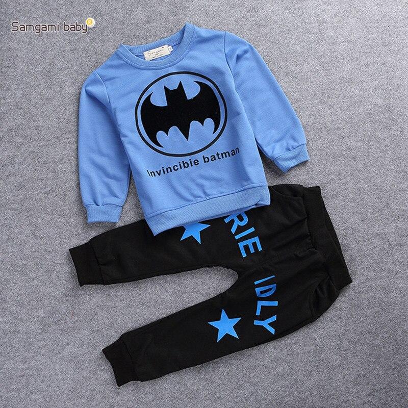 Toddler Boy Clothes Boy Clothing Set Kids Batman Clothes