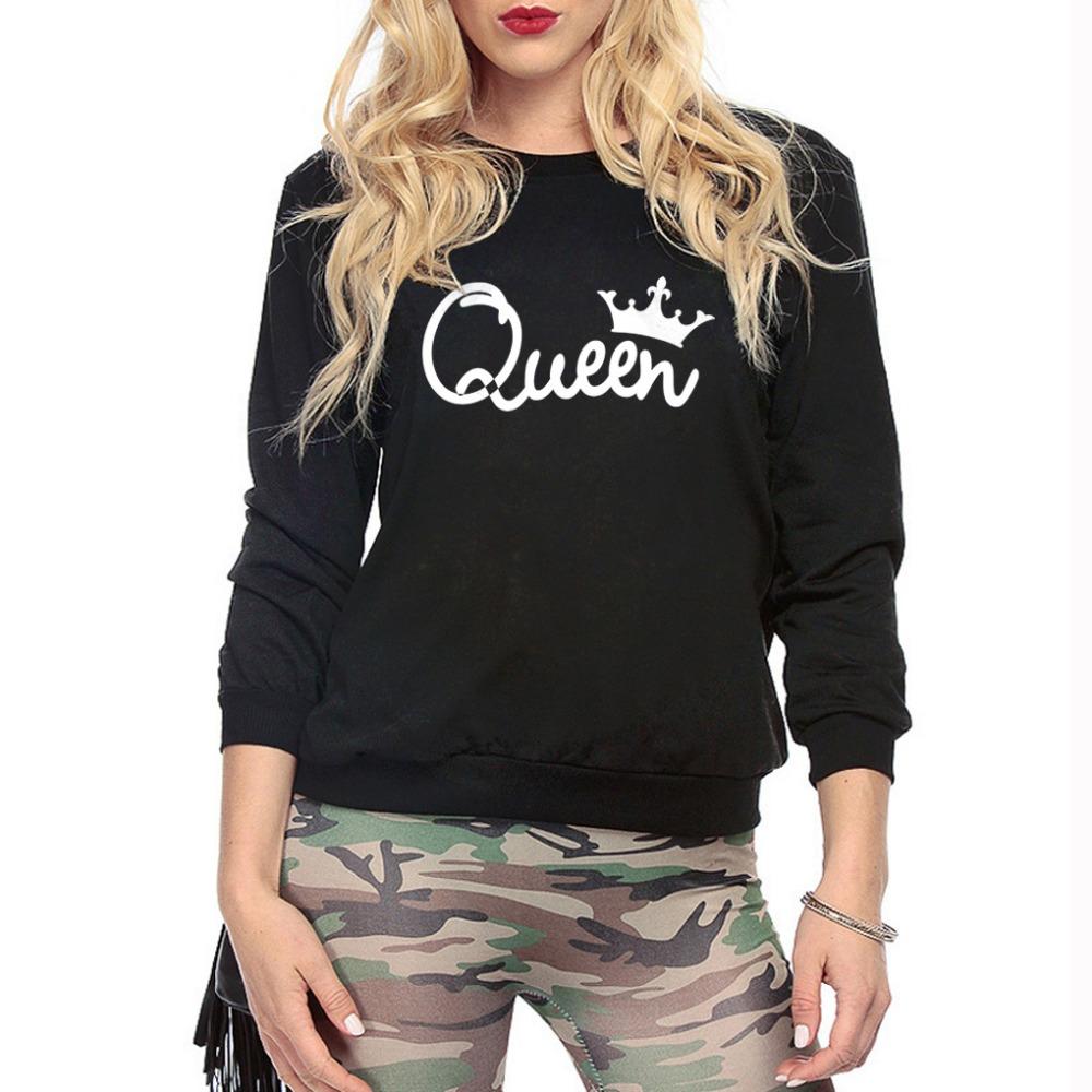 HTB1LE6nSXXXXXX4XpXXq6xXFXXXu - Women's Hoodies Printed Queen Sweatshirt girlfriend gift ideas