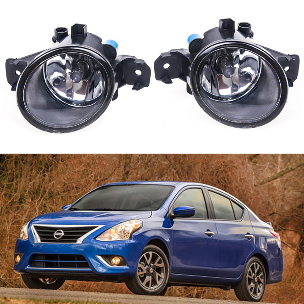 For NISSAN VERSA SEDAN 2012-2015 Car styling Fog Lamps 55W halogen Lights 1SET nikko машина nissan skyline gtr r34 street warriors 1 10 901584 в перми