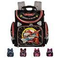 Calidad superior de la nueva llegada 2015 la escuela los niños ortopédicos mochilas bolso de escuela del niño Spiderman avión niños y niñas mochila Kids