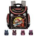 Top Quality New Arrival 2015 Orthopedic Children School Backpacks Child School bag Spiderman Plane Boys and Girls Backpack Kids