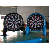 Inflatable Soccer Dart Game,Inflatable Foot Darts dart board football darts for sale football goal kick game
