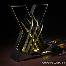 Marvel Comics The Wolverine Collectible Light Cosplay Home Decor Model 35cm DC008056