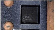 10 ピース/ロットオリジナル macbook air A1466 2012 820 3209 U9701 lcd バックライトドライバ ic チップ LP8550 8550 25 ピンメインボード上