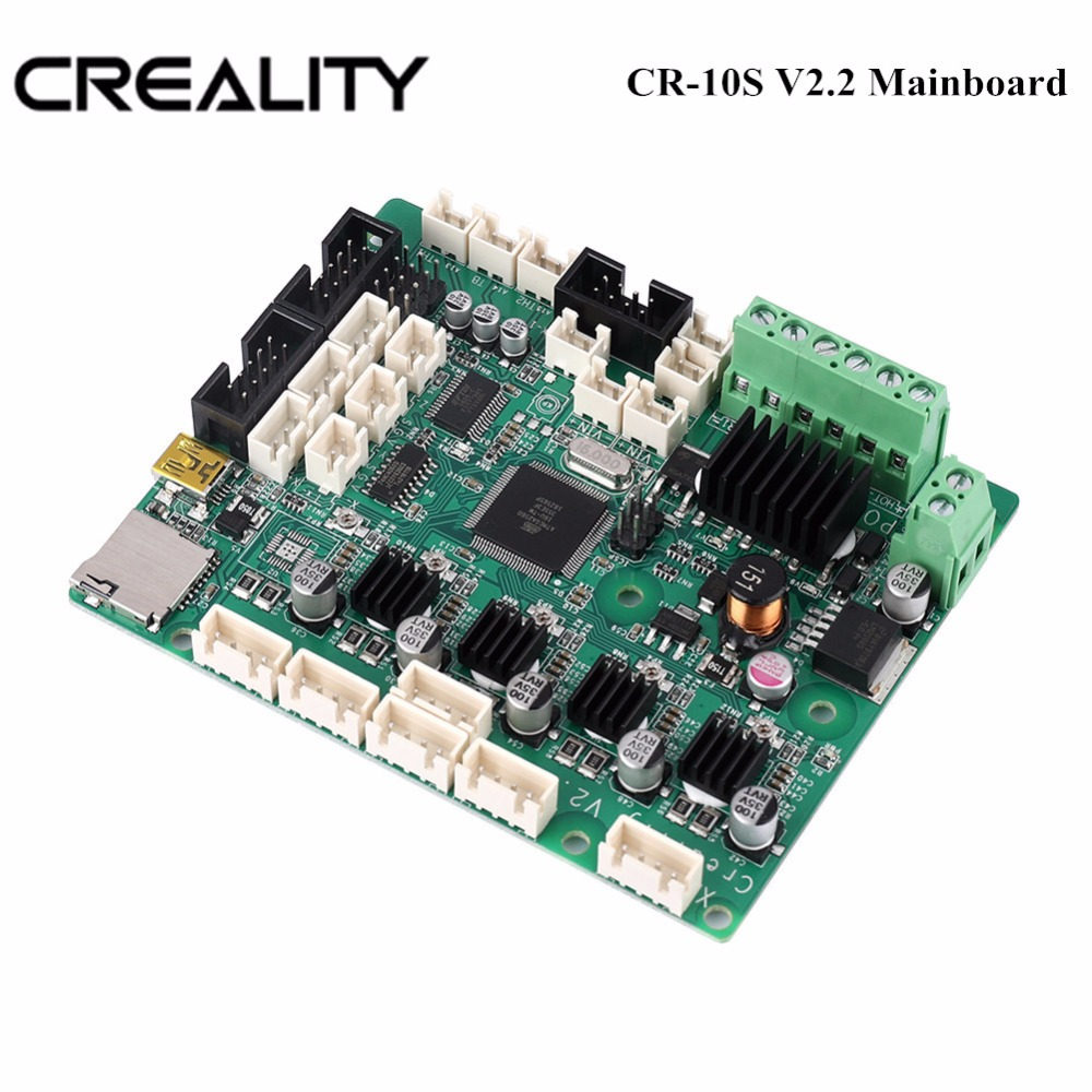 Original Factory Supply CREALITY 3D Newest Upgrade V2.2 Motherboard Controller V2.2 Mainboard For CR 10S Series 3D Printer|3D Printer Parts & Accessories| |  - title=