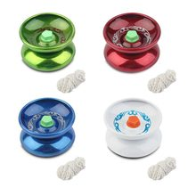 1 pcs hot sale Magic Yoyo Professionele Hoge Prestaties Speed Cool Legering Metalen Voor Kinderen Classic Kids Toys Drop verzending(China)