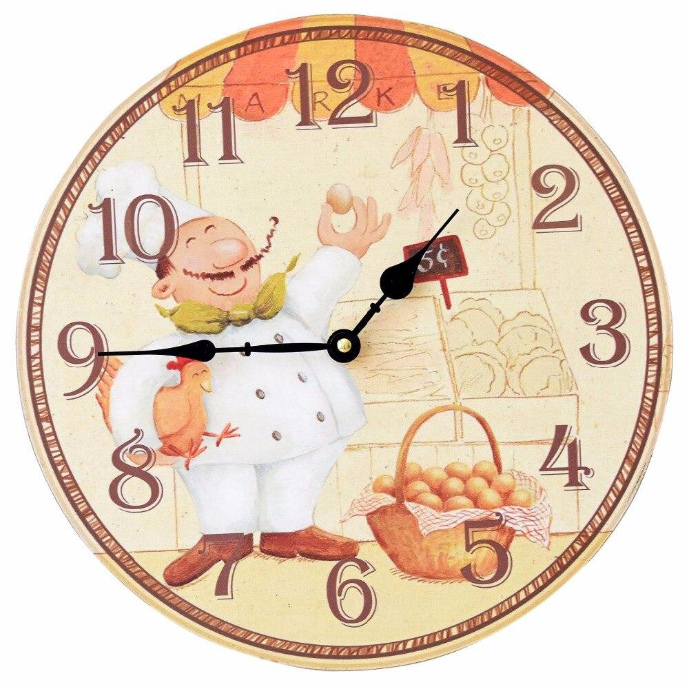 Compra chef reloj de pared online al por mayor de china - Electronica del hogar ...