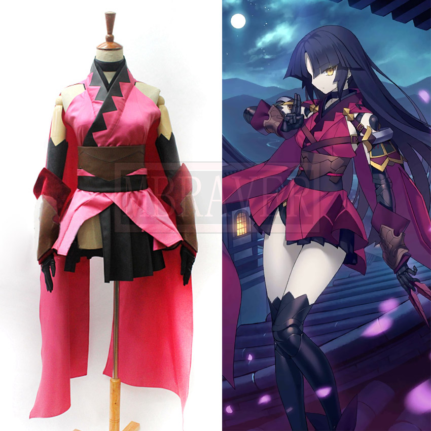 Fate/Grand Order Katou Danzou Cosplay Costume Party Christmas Halloween Custom Made Any Size