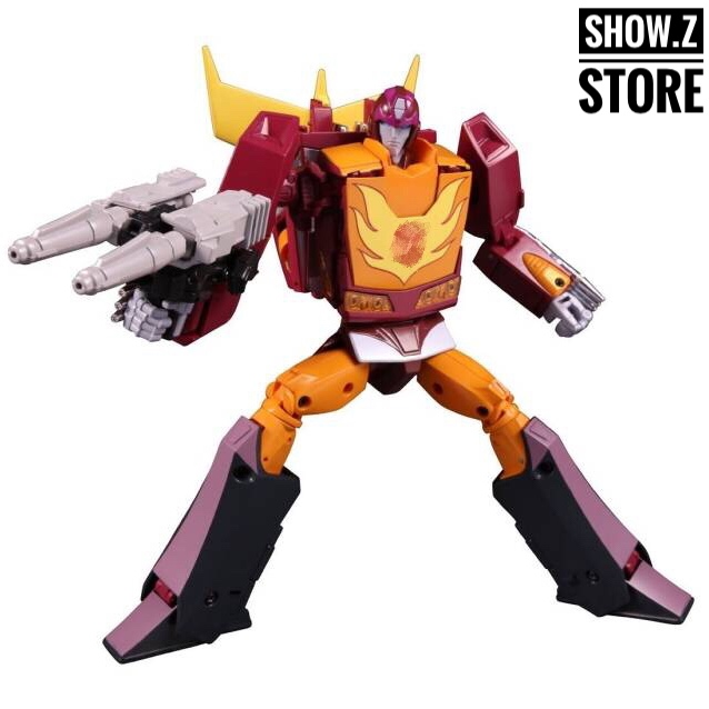 [Show.Z Store] [Factory Leaking Version] 4th Party Masterpiece MP40 MP-40 Targetmaster Hot Rodimus Transformation Figure