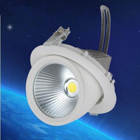 LED Tronc Lampe 30 w COB Led Spots Froid/Blanc/Blanc Chaud Led plafonnier spots D'énergie économie Led Lampe AC85-260V