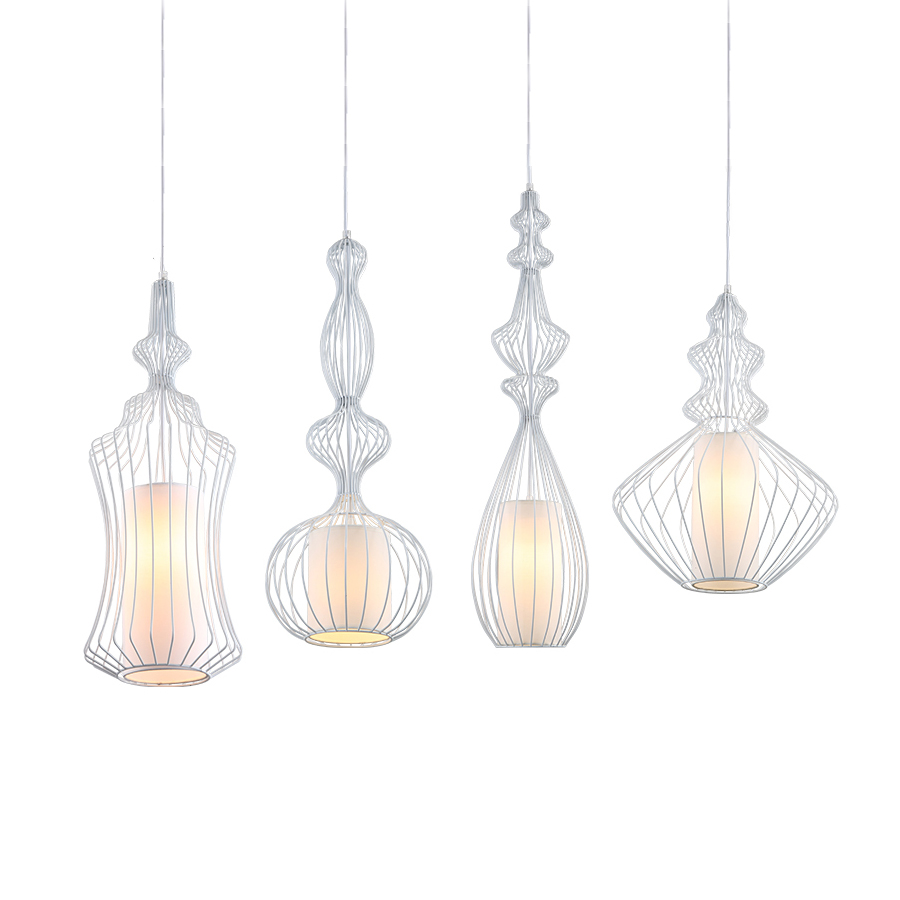Loft Retro Hanging Lamp Industrial Minimalist Iron Pendant Light Bar Cafe Restaurant Warehouse E27 Lamp Holder Vintage Lights