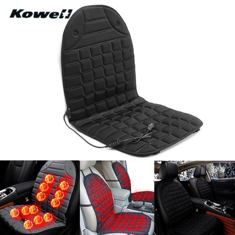 HOT! 12V 25-60 Degree Temperature Adjustable Winter Seats Heated Cushion Case Auto Car Heated Seat Cover with Heating Universal