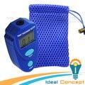 Mini Medidor de Espessura de Revestimento Pintura Do Carro Espessura Tester Pinte Medidor da Espessura de 0 ~ 2.0mm Esmalte Epóxi Plástico com Bolsa
