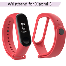 цена на Glossy Watchband for Xiaomi Mi Band 3 Strap for Xiaomi Miband 3 Smart Wristband Watch Strap Replacement Mi Band 3 Accessories