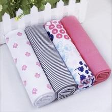 4pcs/lot Newborn Baby Bed Sheet
