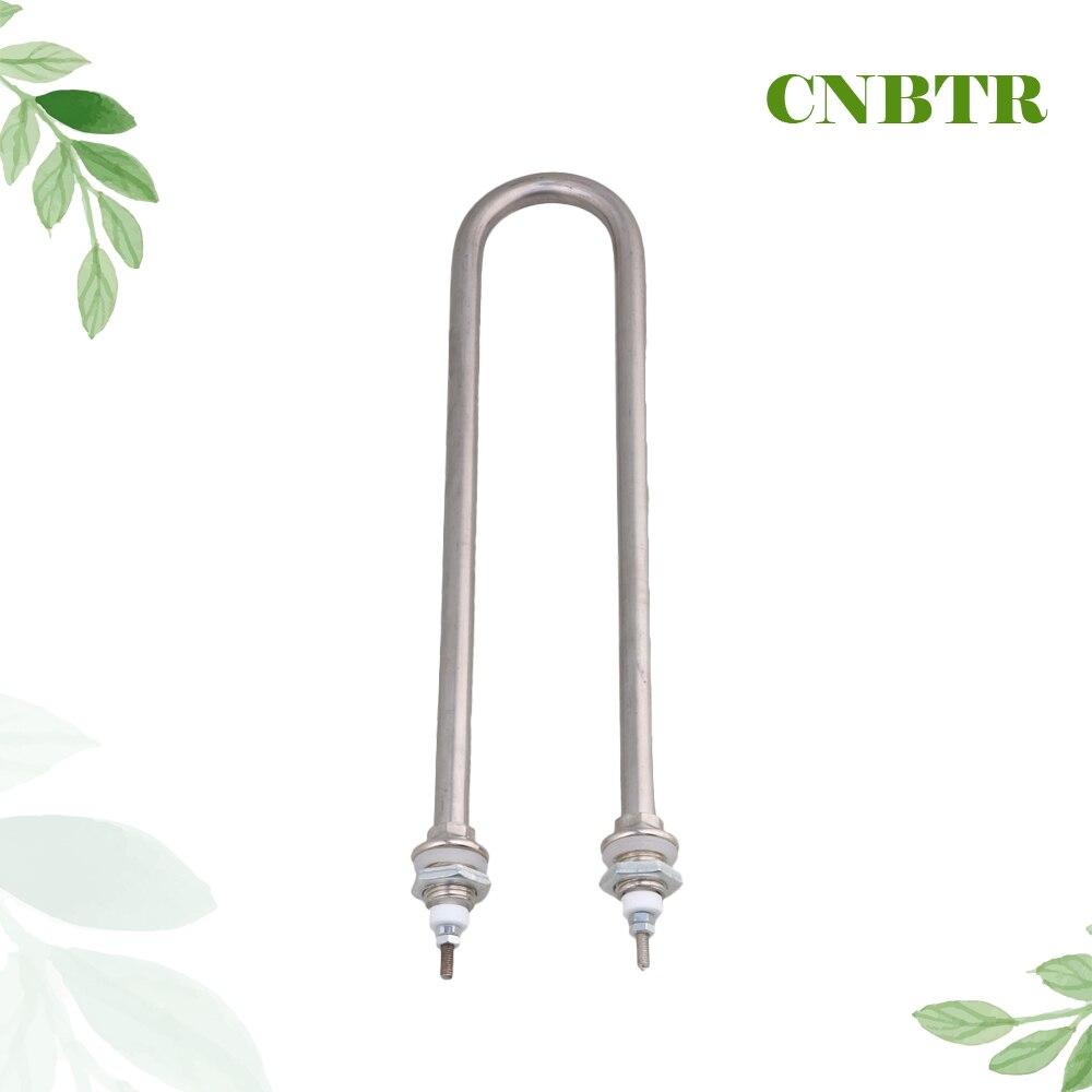 CNBTR 290mm Tubolare A Forma di U AC220V 2000 W M16 Filo Elettrico Water Heater Element