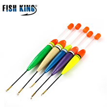 Fishing Floats Set  Fishing Stick Floats Fluctuate Buoy Bobber 5Pcs/Set Mix Size Color For Fishing Accessories Vertical Buoy