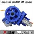 Новый Prusa мендель 3D принтер экструдер GT4 с шаговым двигателем GT036 сопла Size0.3 / 0.35 / 0.4 / 0.5 мм накаливания поддержка 1.75 / 3 мм