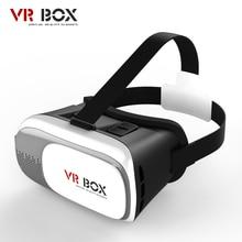 Vr ii cuadro 2.0 google cartón 3d juegos película gafas versión virtual vidrio de realidad para iphone 5 6 6s plus samsung s7 s6 edge S5