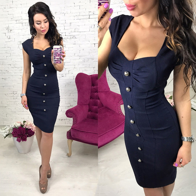 0b7107d7d7b 2018 Autumn Women Button shirt dress Short sleeve Sexy Square Collar Navy  blue Wine red Pink Party Mini dresses Vestidos