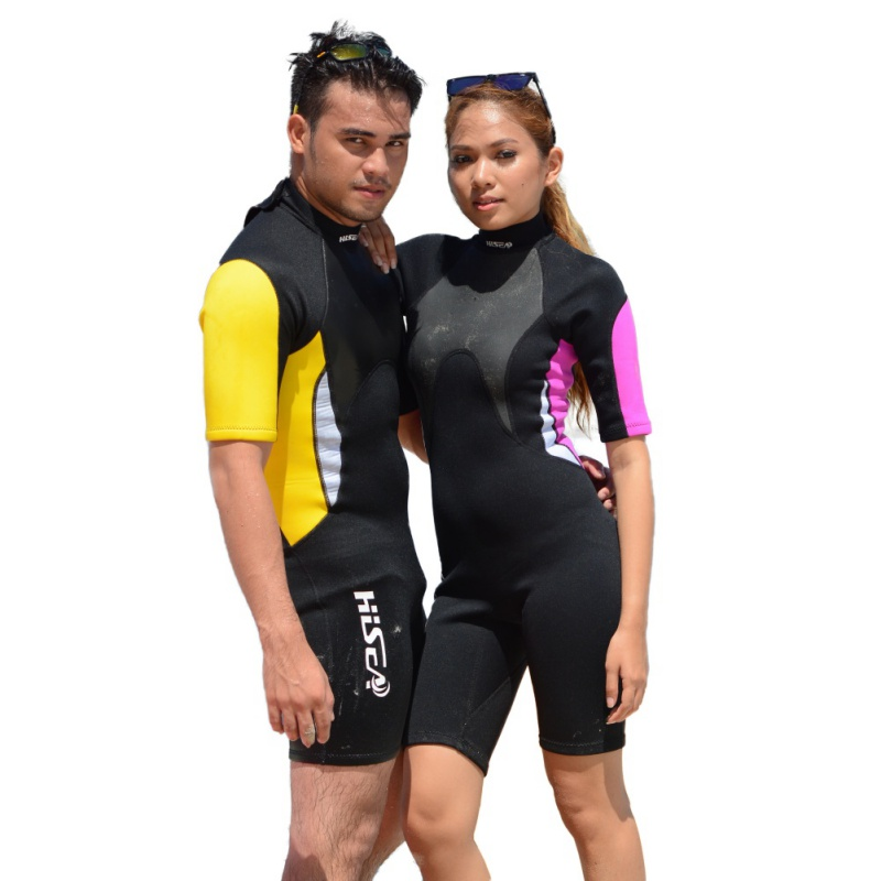 Short Sleeve Pants Male/Female in the Conjoined Couple Models Diving Suits Surfing Drift Clothing Jellyfish Clothing 3mm
