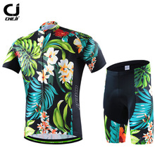 Brand Men Bike Team Cycling Sets Cycling Clothing Roupa Ciclismo Bicycle Maillot Cycling Jersey Sets Short Sleeve Sportswear