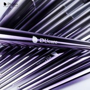 Image 4 - Ducare 17 pçs pincéis de maquiagem conjunto fundação pó sombra sobrancelha escovas para maquiagem kit de ferramentas cosméticos