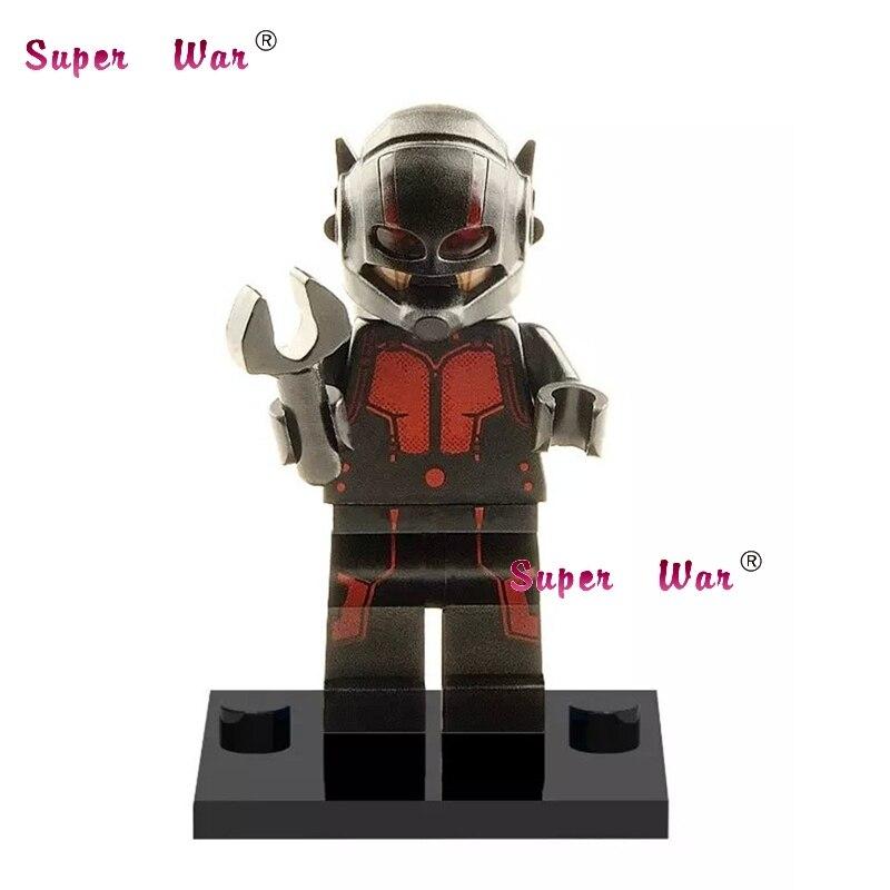 1PCS star wars superhero marvel avengers Ant-Man movie building blocks action sets model bricks toys for children