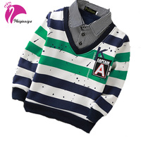 New Teenager T Shirt Fashion Casual Fitness T Shirt Striped Patchwork Sport Long Sleeve T Shirt