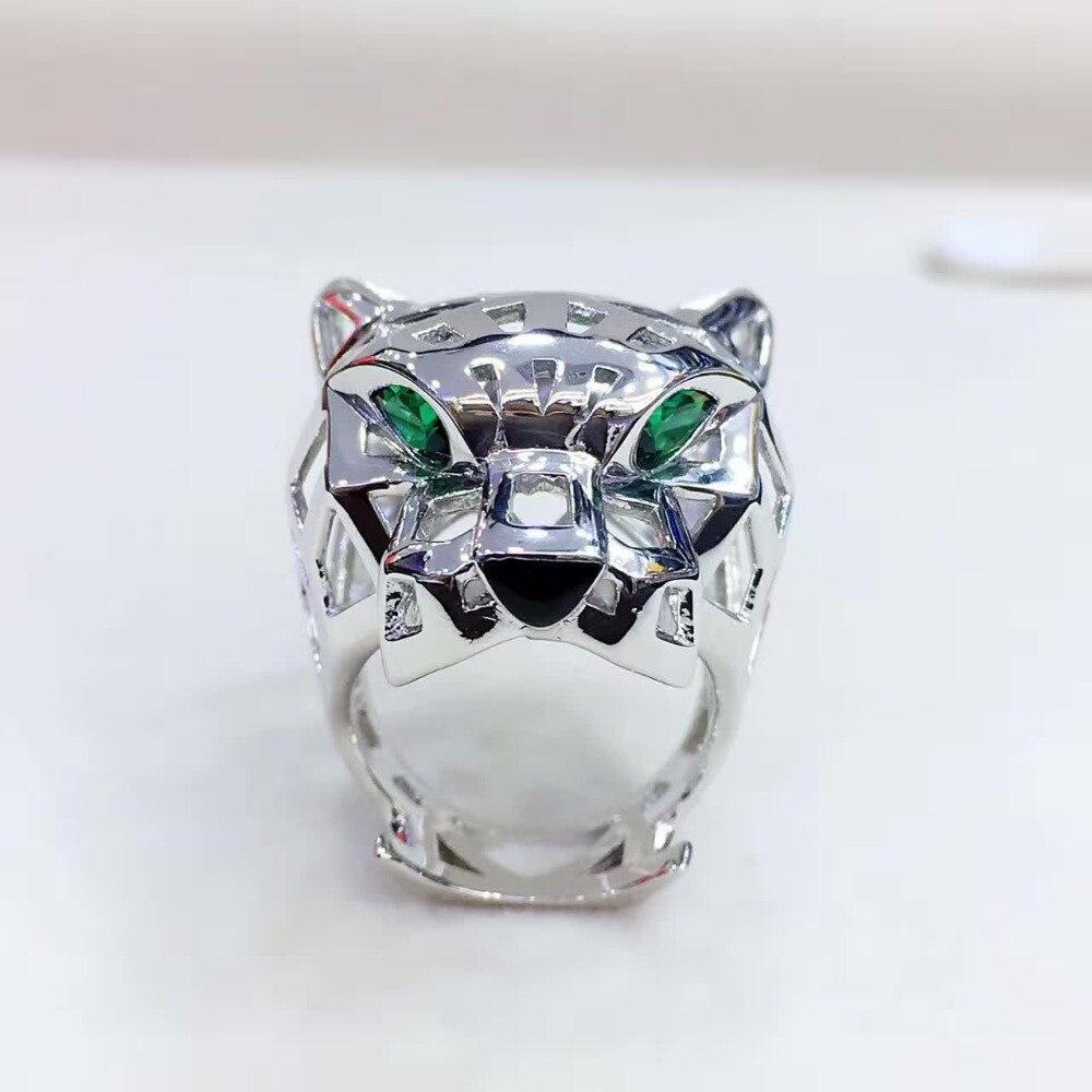 Cool animal designs ring Men Women Leopard Rings brand ...