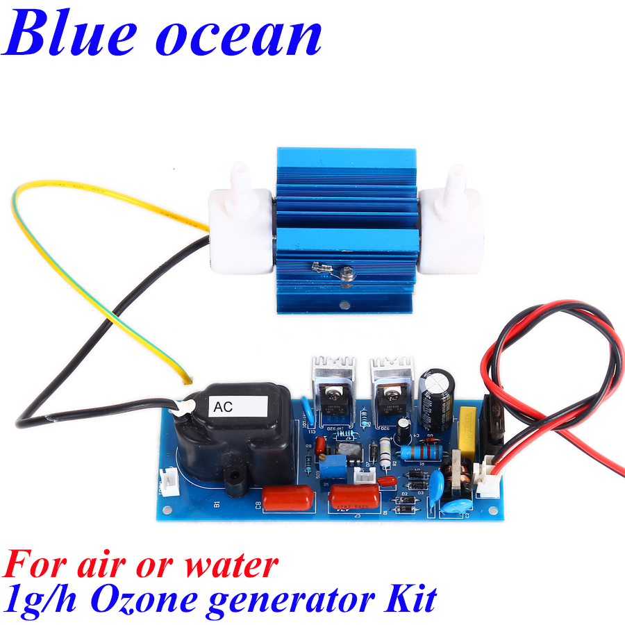 BO-2201QNAOS, FREE SHIPPING Wholesale AC200V-AC240V/AC100V-AC120V Adjustable 1g/h ozonizer aquarium water disinfection aeration