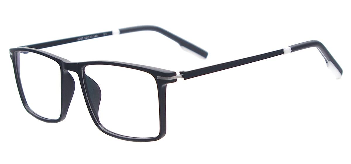 Homens Coloridos Leves Óculos de Tamanho Médio Quadrado Óculos De Plástico  Óculos de Armação Para Lentes de Prescrição óculos de Leitura Miopia em  Armações ... 05823a74dd