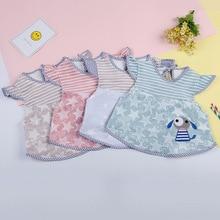 Baby Bibs Boys Waterproof Newborn Girls Burp Bandana Soft Toddler Sleeveless Scarf Infant Saliva Cloth Feeding Apron