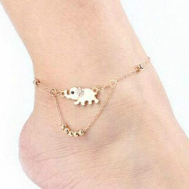 New Boho Collares Vintage Bohemios Ankle Bracelet For Women Barefoot Sandals Beach Foot Jewelry Ankle Summer Beach tornozeleira 2